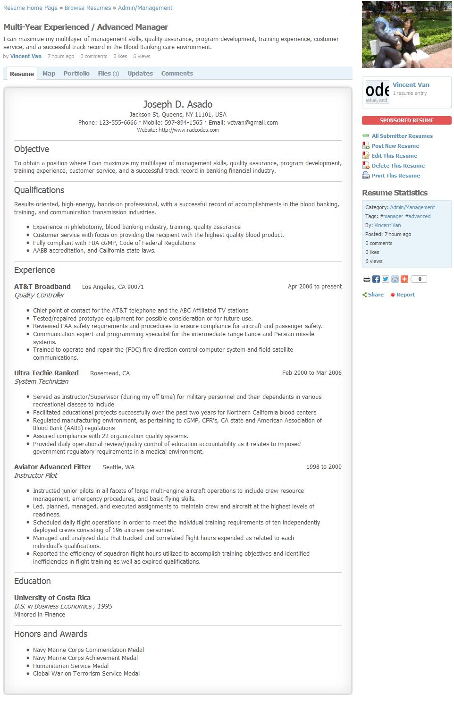resume curriculum vitae plugin socialengine community softwarephotos